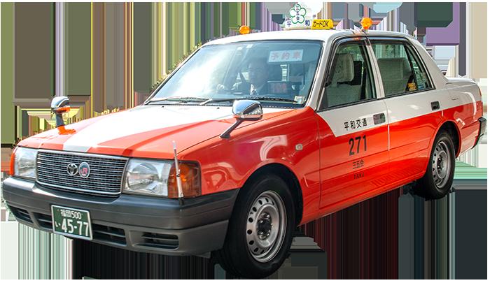博多のタクシー車両